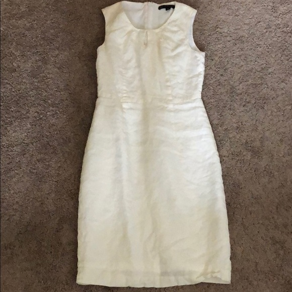 Brooks Brothers Dresses & Skirts - White linen dress by brooks brothers